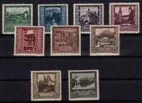 P126377/ AUSTRIA – MI # 433 / 441 COMPLETE MINT MH – CV 145 $