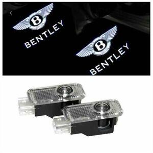 2pcs x Laser LED Door logo Ghost Shadow Light For Bentley Continental GT
