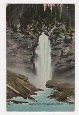 Canada, Laughing Falls, Field, Canadian Rockies Postcard, B250