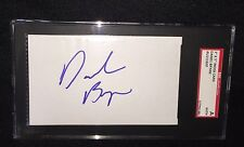 DANIEL BRYAN SIGNED WWE 3X5 INDEX CARD SGC AUTHENTICATED