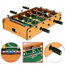 Table Top Football Mini Foosball Players Kids Family Fun Soccer Play Arcade Game