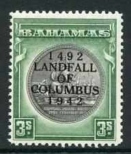 Bahamas SG173a 3/- Brownish Black and Green U/M