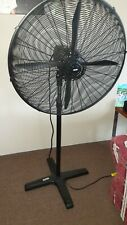 Arlec Industrial Pedestal Fan 75cm , 280W  19 Speed & Timer / Tilt