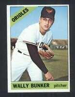 1966 Topps #499 Wally Bunker NM/NM+ Orioles 117261
