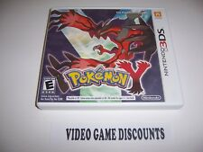 Original Box Case for Nintendo 3DS Pokemon Y *NO GAME*
