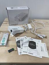 LG PH30JG HD LED Portable Bluetooth MiniBeam Projector WARRANTY Best Buy Jan2023
