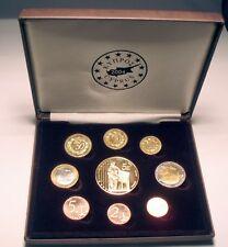 CYPRUS 2004 EURO SET 1 CENT-5 EURO SPECIMEN TRIAL ESSAI PROBE UNC in Box B3