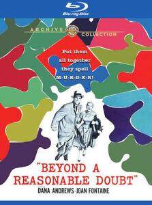 Beyond a Reasonable Doubt [New Blu-ray]