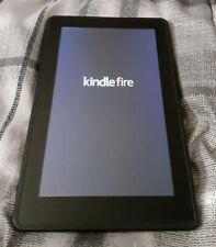 "Amazon Kindle Fire 8GB 7"" Screen Wi-Fi Black Model DO1400"