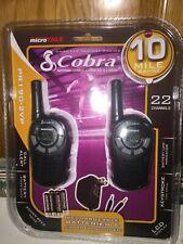 Gmrs-Frs Microtalk Cobra Two Way Radios,10 Mile Range, Pr-190-2Vp