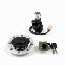Ignition Switch Gas Cap Seat Lock Key Set for Suzuki GSX600 750 98-06 1200 99-00