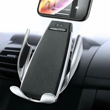 Qi Wireless Car Fast Charger Mobile Phone Holder Mount Vehicle Charging Stand