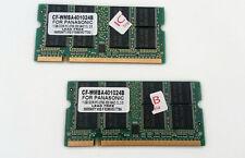 RAM per Notebook 2Gb (2x1Gb) PC2700S DDR333 333MHz SODIMM Memorie portatile DDR1