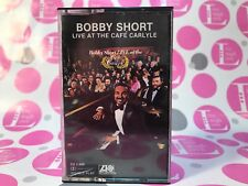 BOBBY SHORT LIVE AT THE CAFE CARLYLE  - CASSETTE TAPE