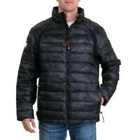 Canada Weather Gear Men's Waterproof Quilted Outdoor Soft Shell Puffer Jacket