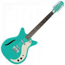 Danelectro Dano'59 VINTAGE 12 cordes guitare électrique turquoise foncé DC59AQU-12