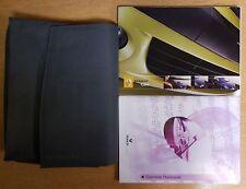 RENAULT CLIO OWNERS MANUAL HANDBOOK WALLET 2003-2006 PACK B-325