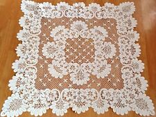 Vintage Victorian Hand Made Lace Table Cover Table Clothes