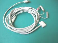 Genuine Apple Composite AV Cable iPad 2 3 4 , iPhone 3G 4S MC748ZM/A