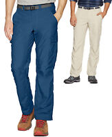 Columbia Mens Cascades Explorer Pants (36 x 32) - (40 x 32) Carbon Blue & Fossil