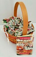 Vintage Longaberger 1998 Mothers Day Basket with Rings and Things Liner Handle