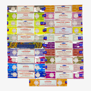 SATYA Incense Sticks Genuine Nag Champa Insence Joss 15g Mix Match