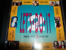 Let's Do It 1990 Australian Various Artists CD Cher Motley Crue Aerosmith B-52's