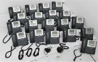 CISCO SPA502G 1-Line IP Business Office Desktop Phones w Display x 19 Job Lot