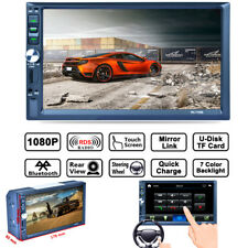 "Update 7"" HD Double DIN Car in-dash Stereo Video Player Android Mirror Link 7155"
