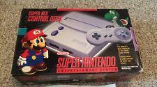 Super Nintendo Jr SNES Console System CIB Complete in Box Model 2 Beautiful!