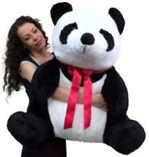 American Made Giant Stuffed Panda 32 Inch Huge Soft Plush Bear Made in USA New