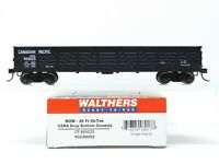 HO Scale Walthers 932-60202 CP Canadian Pacific 40' Gondola #454225