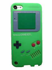iPod Touch 5th & 6th Gen - Soft Silicone Rubber Skin Case Cover Gameboy Player