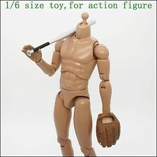 XB115-10 1/6 scale HOT Metal Baseball Bat & Baseball Glove Hands & Baseball TOYS