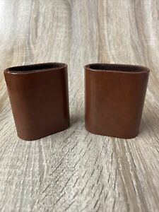 """Vintage Backgammon Replacement Cup Shakers - 3 1/4"""" X 2 7/8 """" X 1 1/2"""
