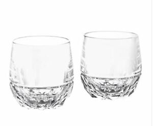 Ralph Lauren Monroe Double Old Fashioned Glasses Set of 2 NIB