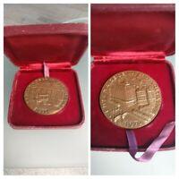 Ancienne medaille en bronze pour le centenaire de la Samaritaine 1870/1970.