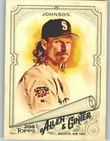 (10) Randy Johnson 2018 Topps Allen & Ginter 10-CARD BASE LOT Mariners #113