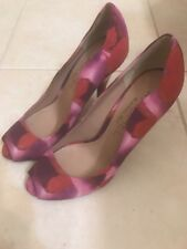 Rachel Roy Elsy Red/Pink Peep Toe Pump Size 6M NEW*