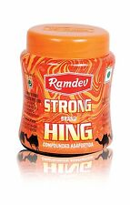 Ramdev Strong Hing Powder Ferula Asafoetida powder natural 100Gm
