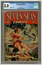 New ListingSeven Seas Comics #4 (Cgc 3.0) Ow/W pages; Matt Baker; Classic cover (j#1501)