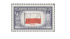 USA0909 Polish flag 1pcs.MNH USA