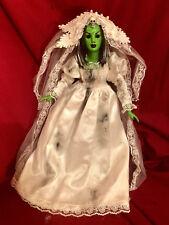 OOAK High Priestess Witch Creepy Horror Doll Art by Christie Creepydolls