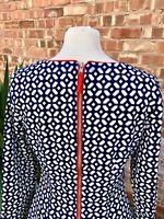 BNWT Belle Badgley Mischka Geometric Dress. UK Size 10
