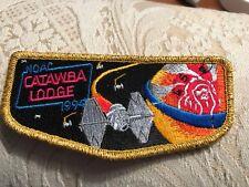 Boy Scouts-  CATAWBA 459 - NOAC 1994 - gold mylar trim flap