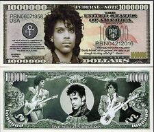 PRINCE One Million Dollar Bill Note $1000000 BUY 2 GET 1 FREE