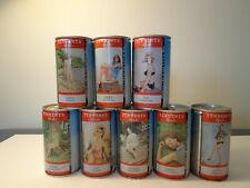 Lot Of 8 Tennent'S Lager Beer Cans