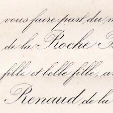 Paule De La Roche Fontenilles Renaud De La Roche-Aymon 1874