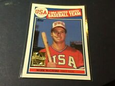 1999 Topps Commemorative Reprint Mark McGwire Olympic Rookie  Near MINT/MINT