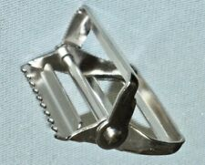 """2"""" Web Strap *Pivoting Release Buckle* Heavy Duty Metal with Teeth-Made in Usa"""